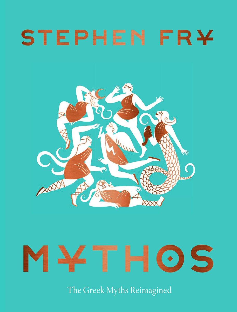 Уншууштай ном. Stephen Fry is simply a brilliant mind! #kbreads #stephenfry #mythos