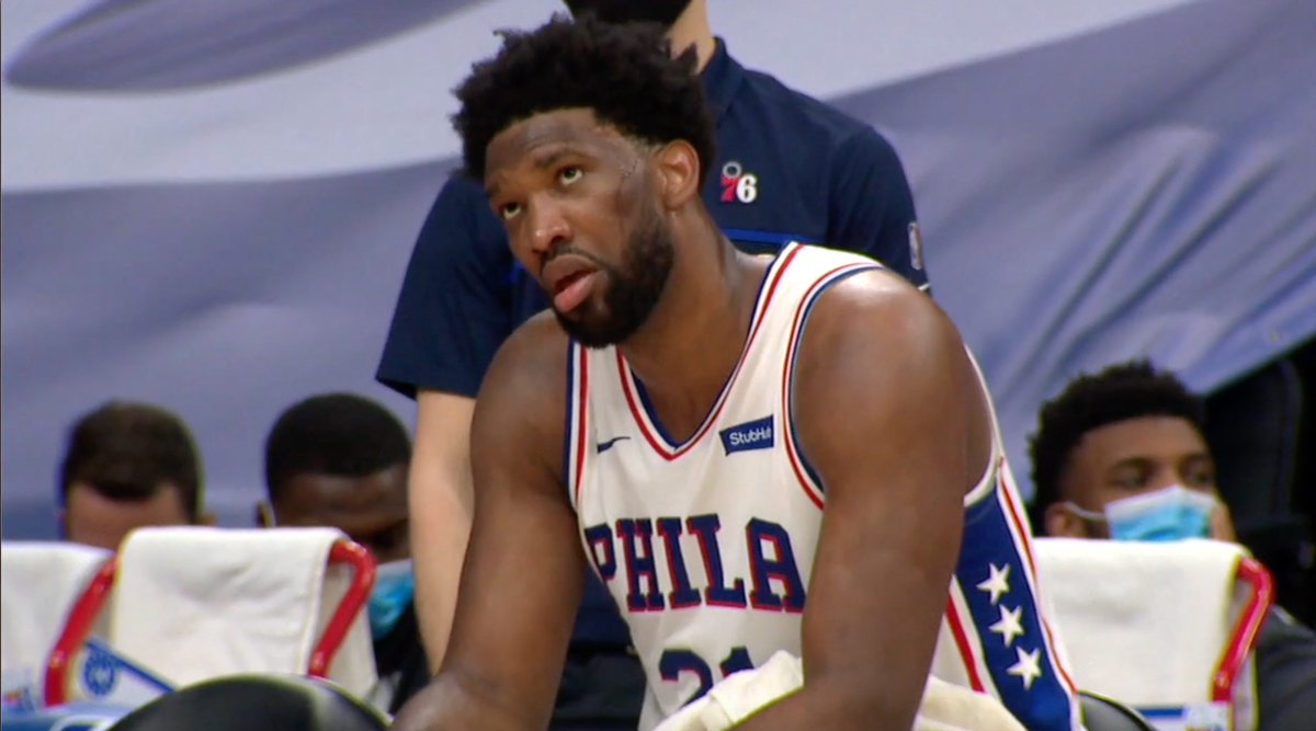 Joel Embiid went out and dropped 42, and then got into a back-and-forth about flopping with Marcus Smart, and it was glorious. Also: the Celtics and Sixers are right back at it tomorrow night. Hmmmm....
