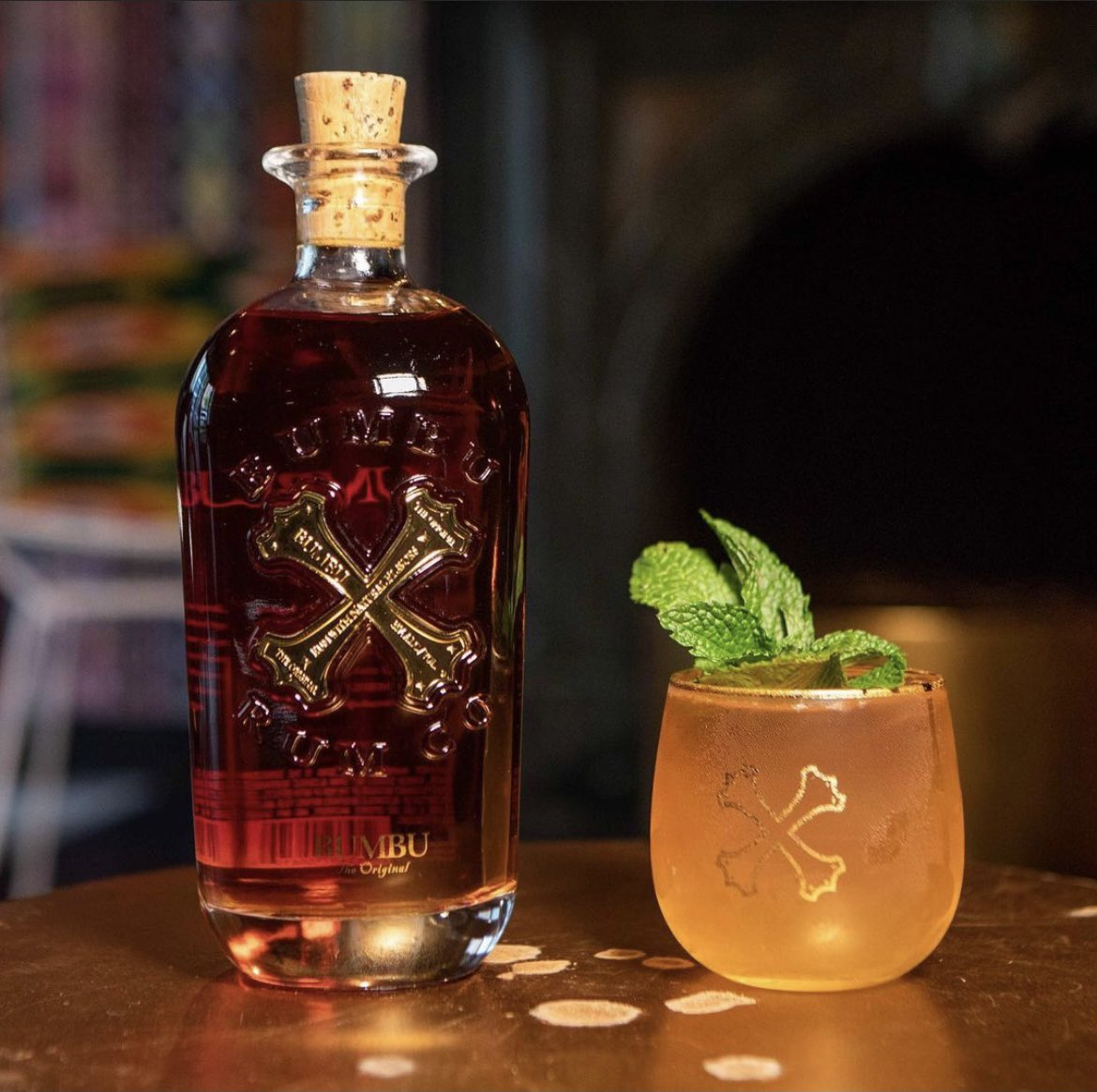 Who's sipping #Bumbu tonight?   A simple at-home cocktail is #Bumbu, OJ and ginger ale (with mint, if handy, to garnish)  Enjoy!