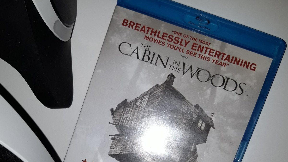 Next up for Review is #TheCabinintheWoods (Not 3D) on #PlaystationVR. This fairground ride of a horror film should sit perfectly on the #PSVR, I'm looking forward to seeing how the glass prison of monsters looks on the VR's little big screen. This should be fun. Review incoming.