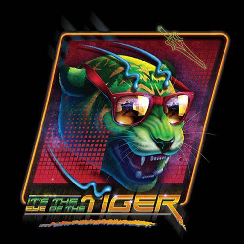 "Camiseta ""It's The Eye Of The Tiger"" diseñada por RockyDavies  #He-Man #Survivor #EyeoftheTiger #MastersoftheUniverse"