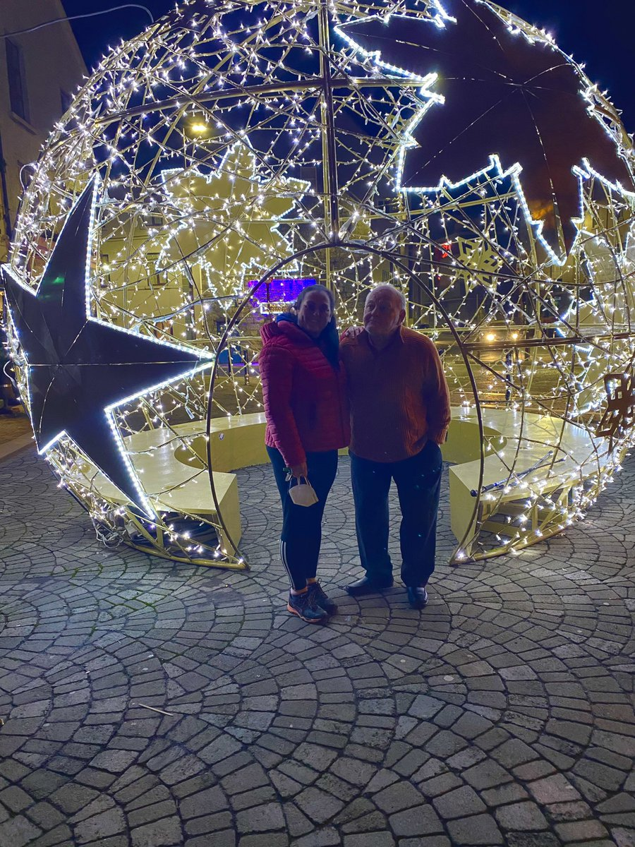 Essential visit to Galway today with Dad for an appointment at the Galway Clinic. After a long day we popped in for Galways finest Fish & Chips to find McDonaghs closed but the city did not disappoint with beautiful Christmas decorations everywhere! #COVID19 #Christmas_love