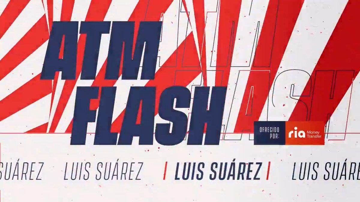 """📡 🔴 #ATMFLASH  🎙 Las palabras de @LuisSuarez9 donde te desgrana las claves de la victoria de hoy  """"𝑇𝑒𝑛𝑒𝑚𝑜𝑠 𝑞𝑢𝑒 𝑠𝑒𝑔𝑢𝑖𝑟 𝑒𝑠𝑡𝑎 𝑙𝑖́𝑛𝑒𝑎""""  🔴⚪ #AúpaAtleti"""