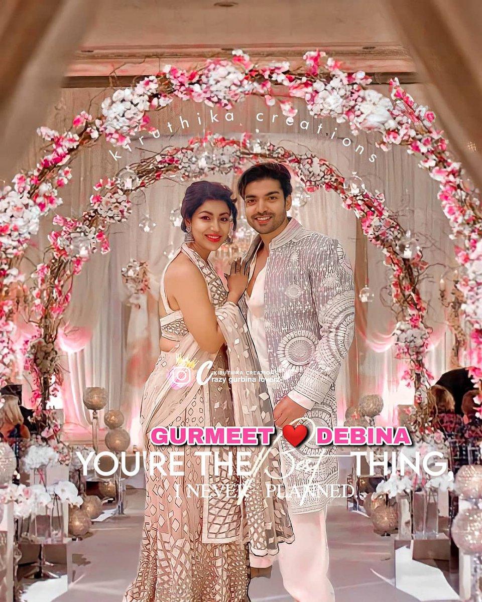 My Royal couple looking stunning together 😍❤️ #poobanipawar @gurruchoudhary @imdebina #Gurmeetchoudhary #Debinabonnerjee #GurBina https://t.co/XA3o2DHp0F