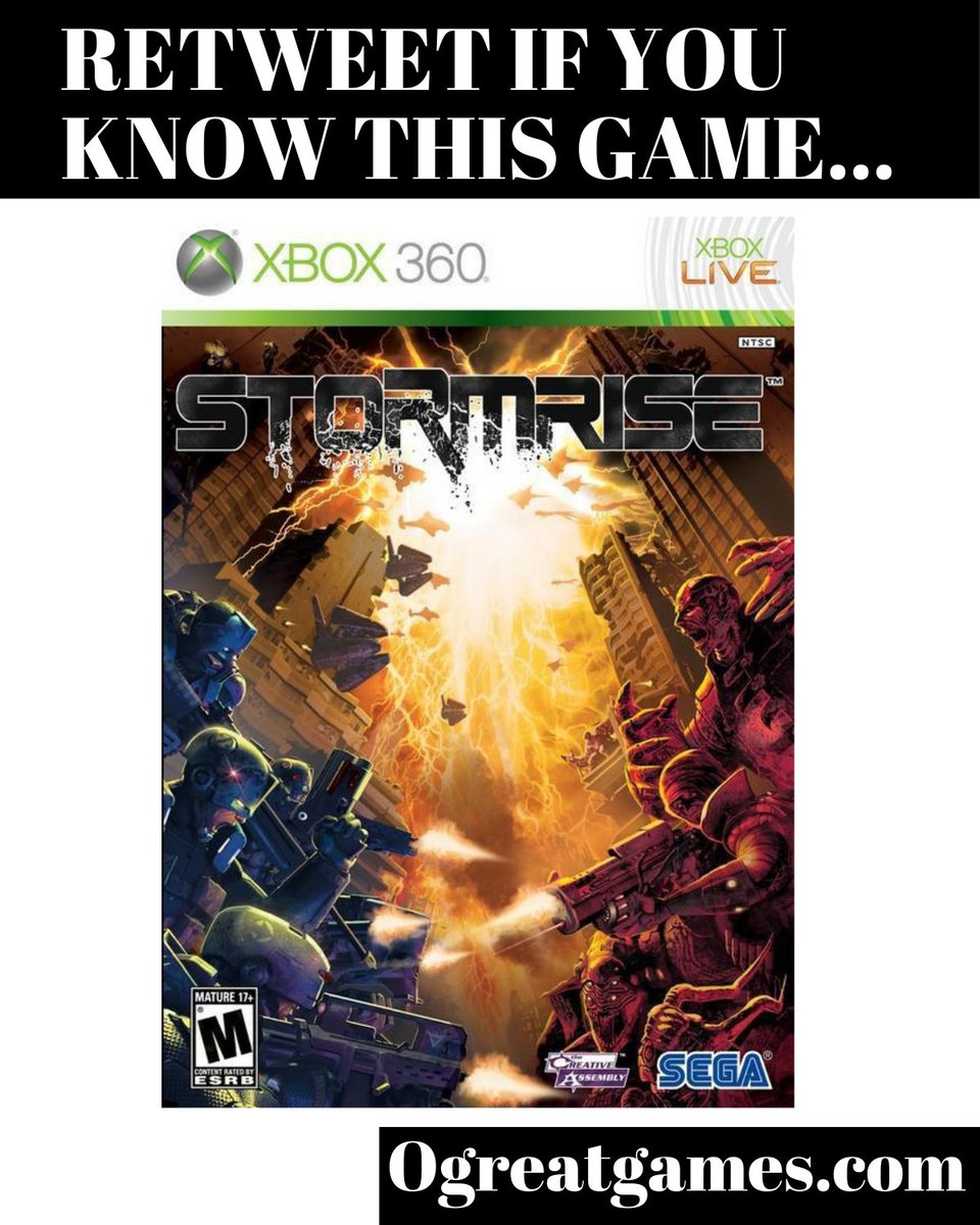 RT if you have ever experienced Stormrise! #tweet #game #videogames #xbox360 #gamer https://t.co/xSUnmL1Me0
