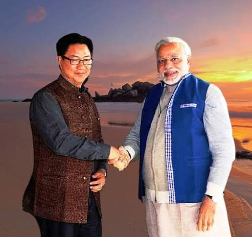 Union Sports Minister #KirenRijiju  given additional charge of Ministry of AYUSH during the hospitalisation and treatment of Union Minister Shripad Y Naik following a road accident .  Vinod Kashyap  Mdniy New Delhi  CCRYN  National Institute of Naturopathy https://t.co/jzV8CzHEI6
