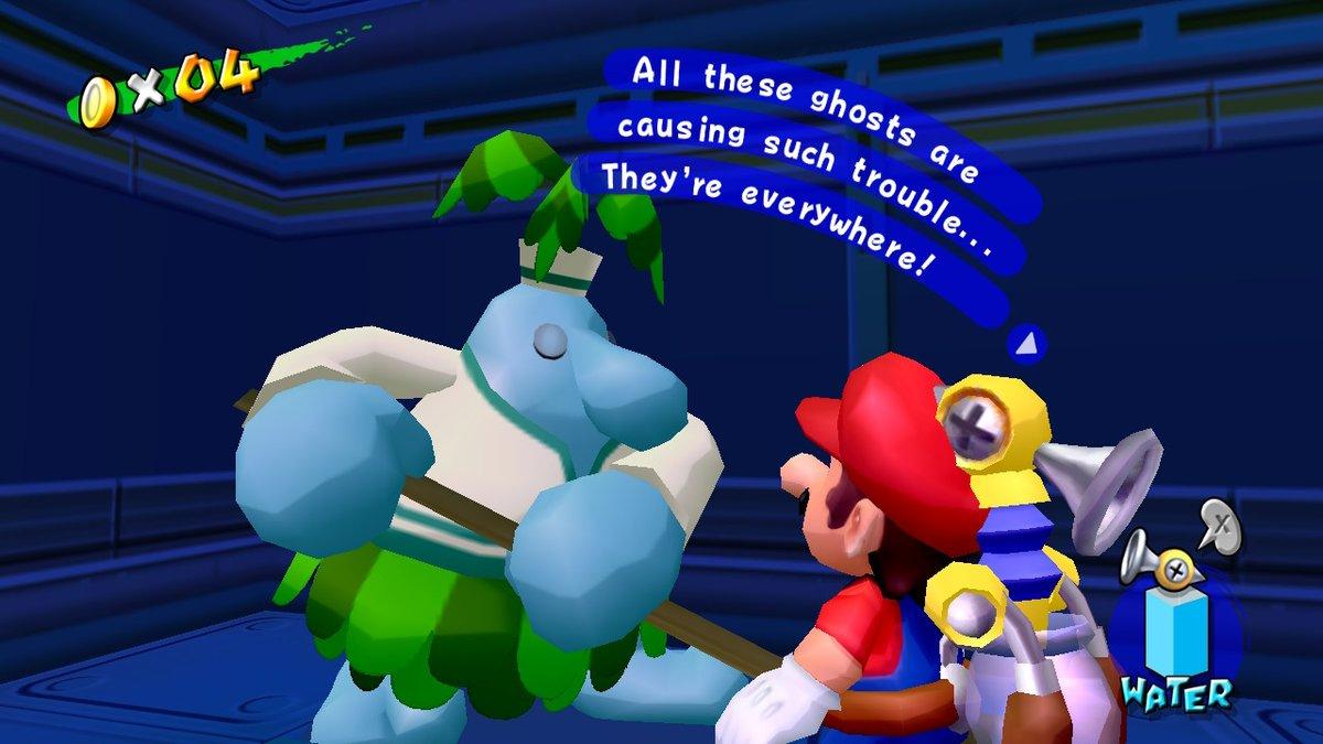 Ha. references. #SuperMario3DAllStars #NintendoSwitch