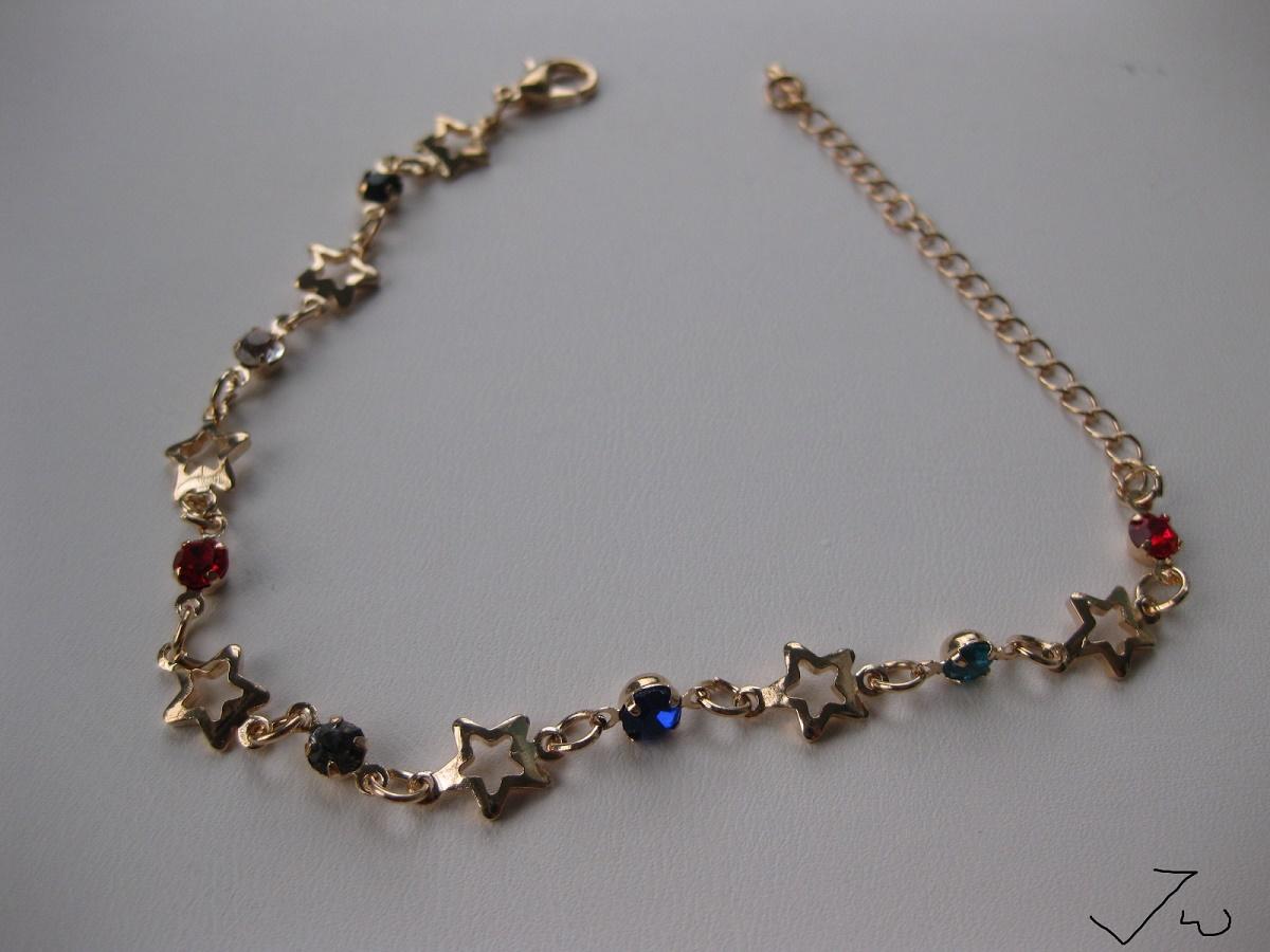 Cz star chain bracelet    #bracelet #cz #mix #star #stars #gold #golden #chain #charm #jw #new #jewelry #jewelryforValentinesDay #fashion #fashionstyle #fashionjewelry #depop #paypal #shopsmallbiz #party #cosplay #costume #boho #chic #cute