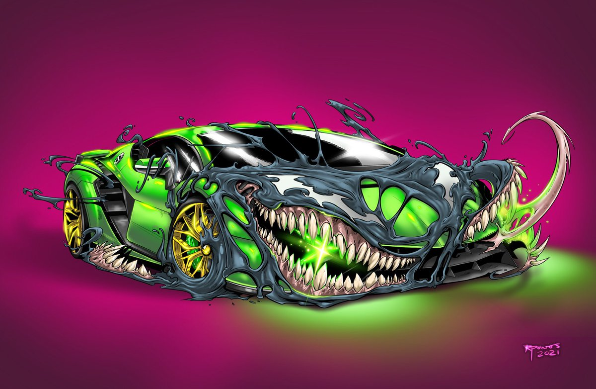 #Venomized #Lamborghini #venom #autos #cars #sportscars #conceptart #digitalart #marvel #topgear #ipadpro #procreate #fanart