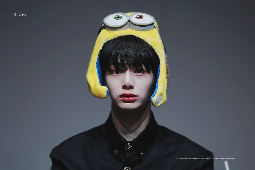 @Minions Thank you minions for wishing your brother, CHAE MINI  @Minions 💙 #NobodyElseButHyungwon  #HYUNGWON #형원  #MONSTAX #몬스타엑스  @OfficialMonstaX @official__wonho