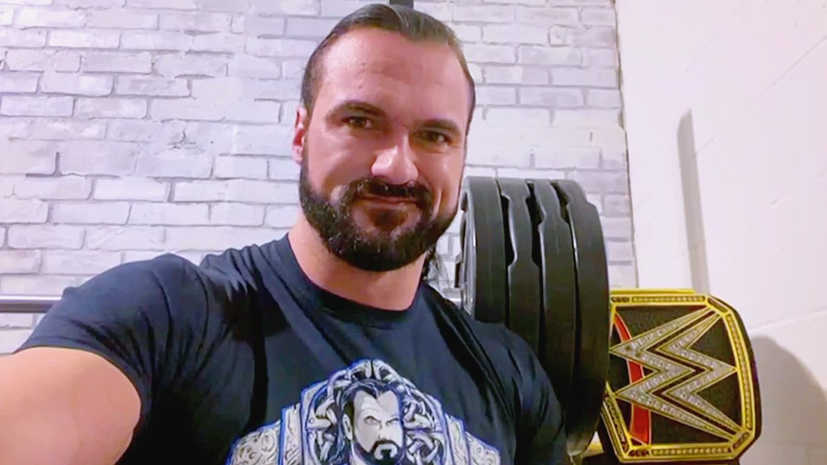 #WWEChampion @DMcIntyreWWE sent a message to @Goldberg on #WWERaw!  What will happen when the two meet face-to-face THIS Monday?