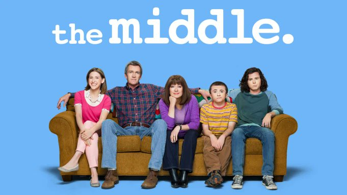 Discovered THE MIDDLE on #HBOMAX This hilarious sitcom draws its humor from typical middle-class family woes like tight finances, overscheduling, communication issues, and family time. Ran 9 seasons.