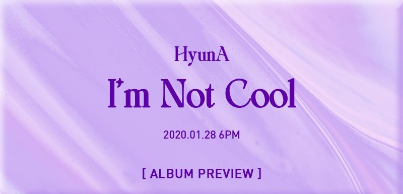 [PH GO] Hyun Ah - Mini Album Vol.7 [I'm Not Cool] #SweetDandeGO🌼  💸750php  ➞ALL IN + LSF 📆DOO: Jan26 📆DOP: Jan27 💯Counted ✅POBs ✨Freebies ♡ ✈️Normal ETA  💌FORM: