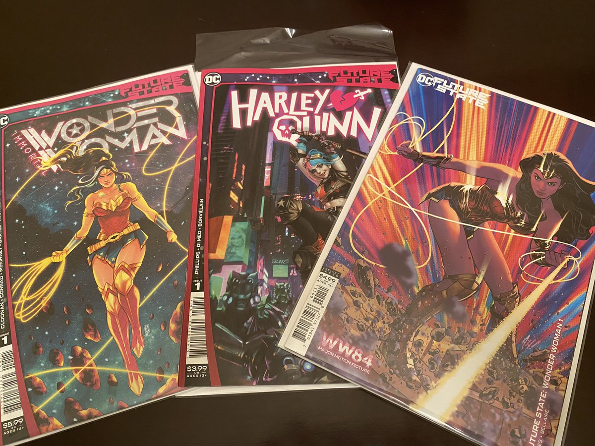 Let's check out this #DCComics #FutureState business  #ImmortalWonderWoman #HarleyQuinn #WonderWoman #comicbooks