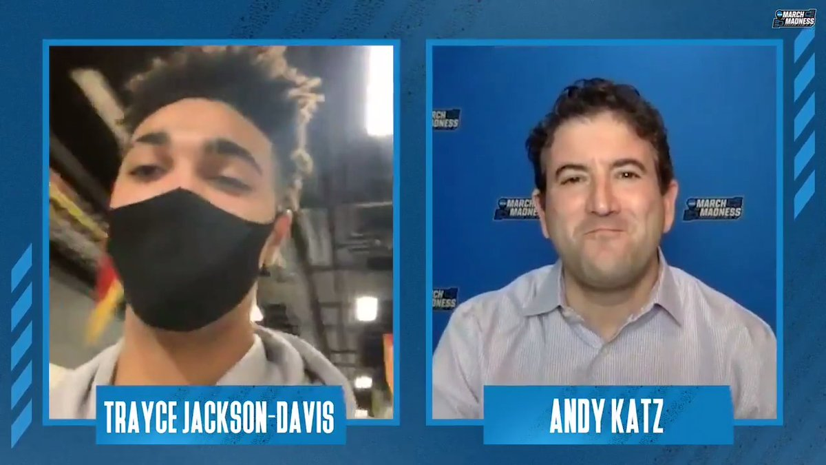 """I thought our team really buckled down… We finally found a way to win."" 🔴⚪️  @TrayceJackson joined @TheAndyKatz after @IndianaMBB picked up its win of the season at No. 4 Iowa! #IUBB"