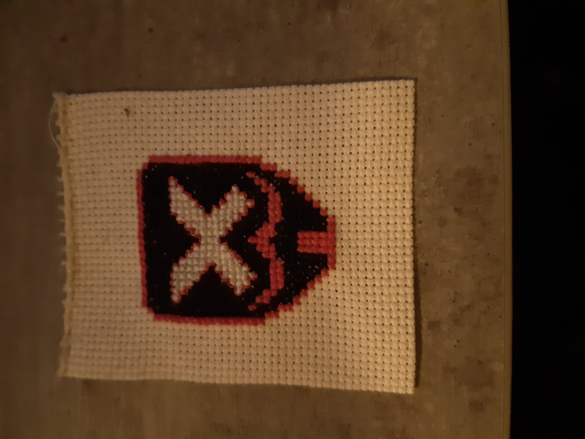 I have the coolest new community on @Twitch_ANZ  - Don't disagree - I don't want you to be wrong!   Thank you so much CreevaHavok! - can't wait to see it in person!    #AnchorClub #streamer #twitch #gamer #gaming #twitchstreamer #ps #youtube #xbox #nintendo #crossstitch https://t.co/p5ansD6TDR