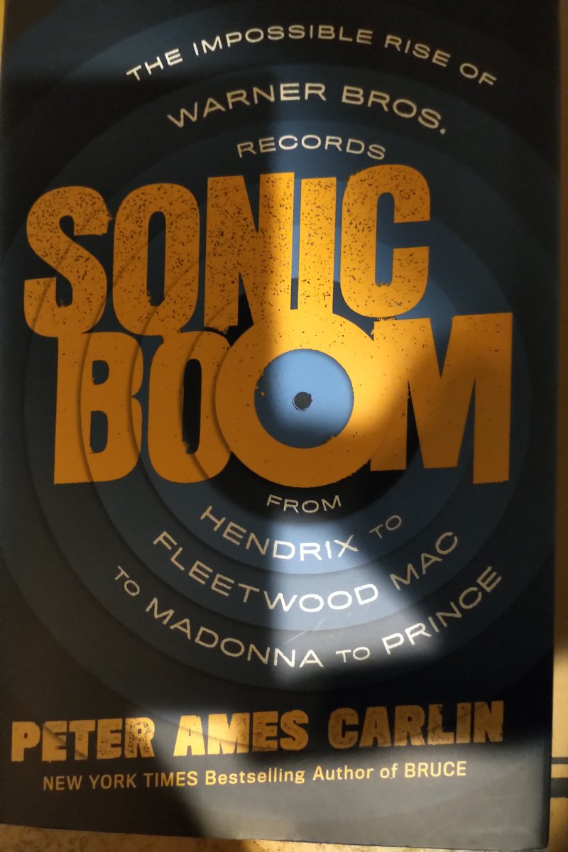 @peteramescarlin releases his new book #SONICBOOM the impossible rise of Warner Brothers Records just  we cannot wait to read!   https://t.co/IpQZtUgTky - NOTE bears no resemblance to the current name holder https://t.co/AP1kcm0OJc