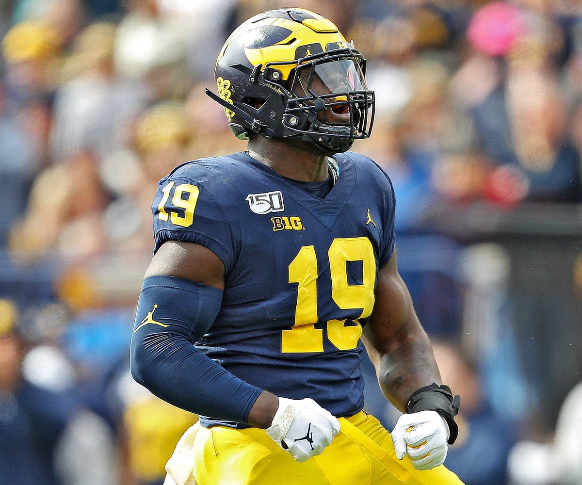 Blessed to receive an offer from THE University Of Michigan !