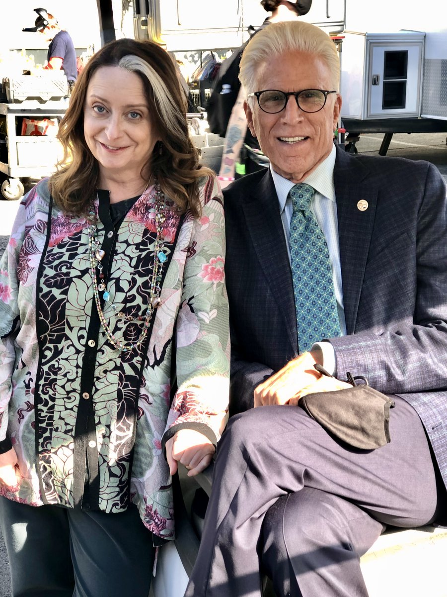 Replying to @TedDanson: Told ya we had incredible guest stars this season! Please welcome the iconic @TheRealDratch! #MrMayor