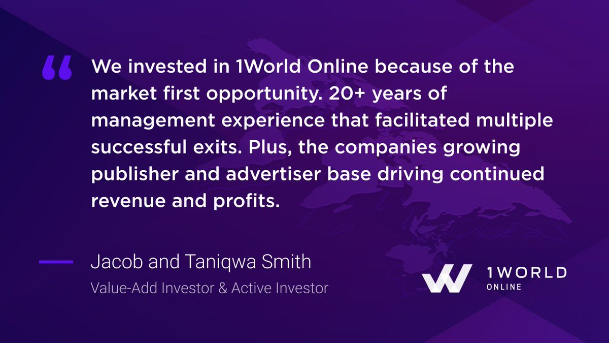 Tweet by @1World_Online