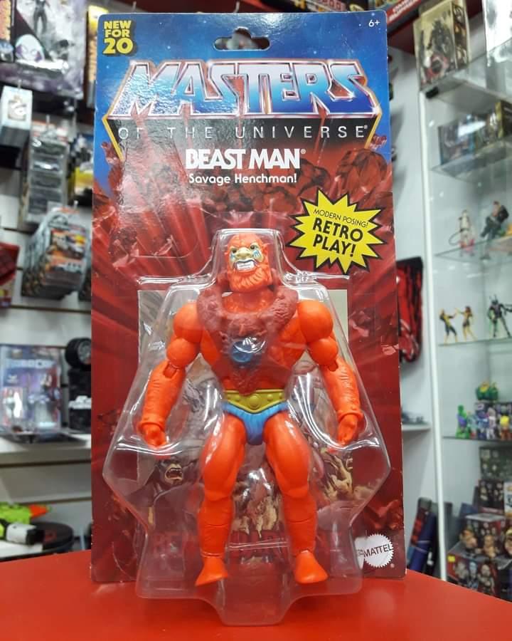 #STOCK Levate el último #BeastMan de la nueva linea #MastersoftheUniverse Origins by #Mattel  💰6500 (efectivo/deposito 🏦) 💰7650 (mercadopago o 3 cuotas s/interes en Showroom) 🛒