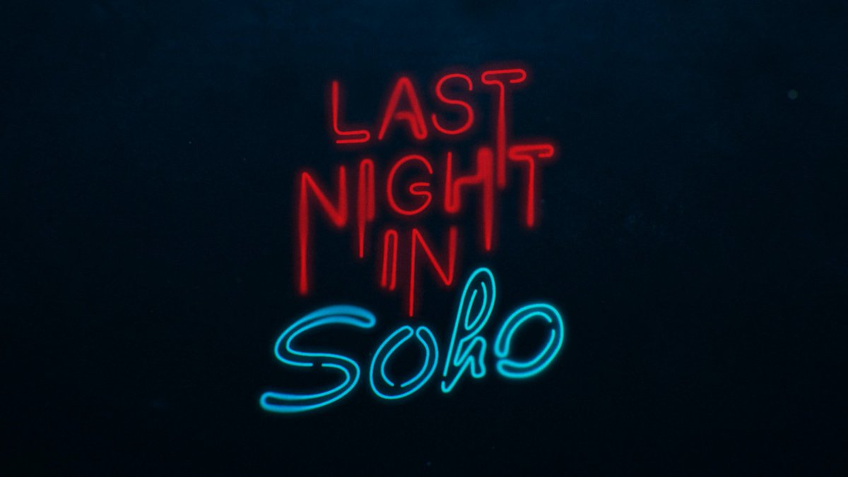 Some news - my new film @lastnightinsoho will now be coming out later in the year. I know some of you may be disappointed, but my hope is more of you will be able to experience it as we intended; in the dark, on a big screen, with an audience. See you at the movies...10/22/21