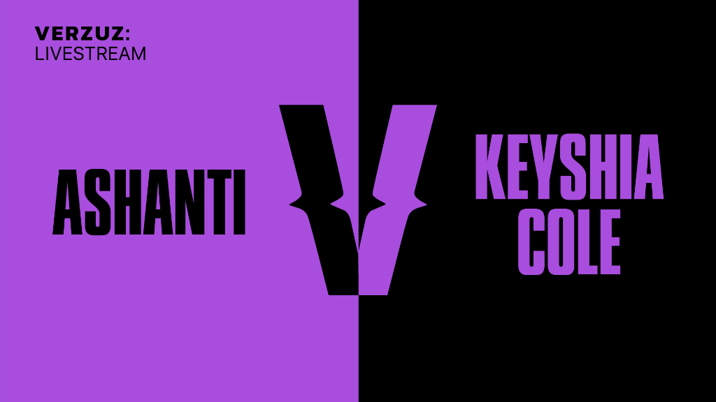 Showtime.  @ashanti x @KeyshiaCole go head-to-head in a new #Verzuz battle. @verzuzonline  Watch now: