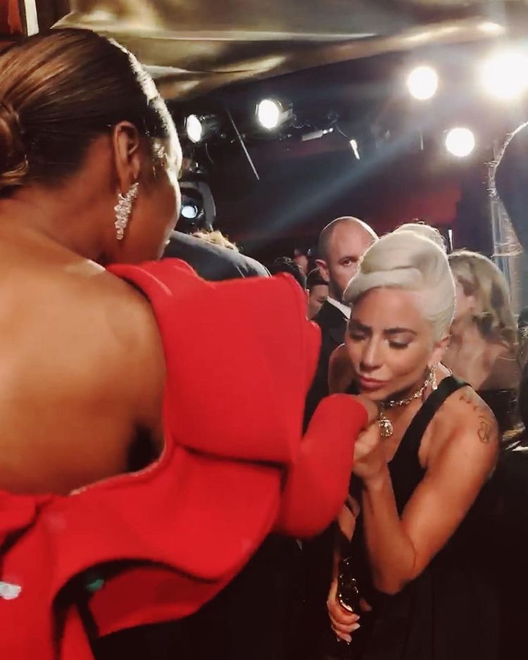 """""""You have done so much work to lift up our shared communities especially through the pandemic and I was SO happy to see you sing yesterday. Please continue your amazing work"""" - Jennifer Hudson about @ladygaga"""