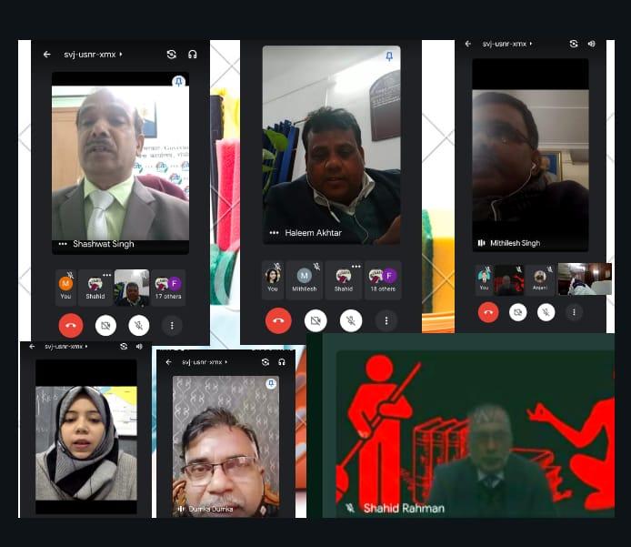 @RanchiPIB @RobRanchi & @dumka_fob of @MIB_India  organised webinar on Shiksha,Swasthya aur Swachhata. #NEP2020 #Unite2FightCorona #SwachhataPakhwada @PMOIndia @MoHFW_INDIA @MIB_India @PIB_India @mygovindia @BOC_MIB @RobRanchi @rnuddkranchi @airnews_ranchi @prdjharkhand
