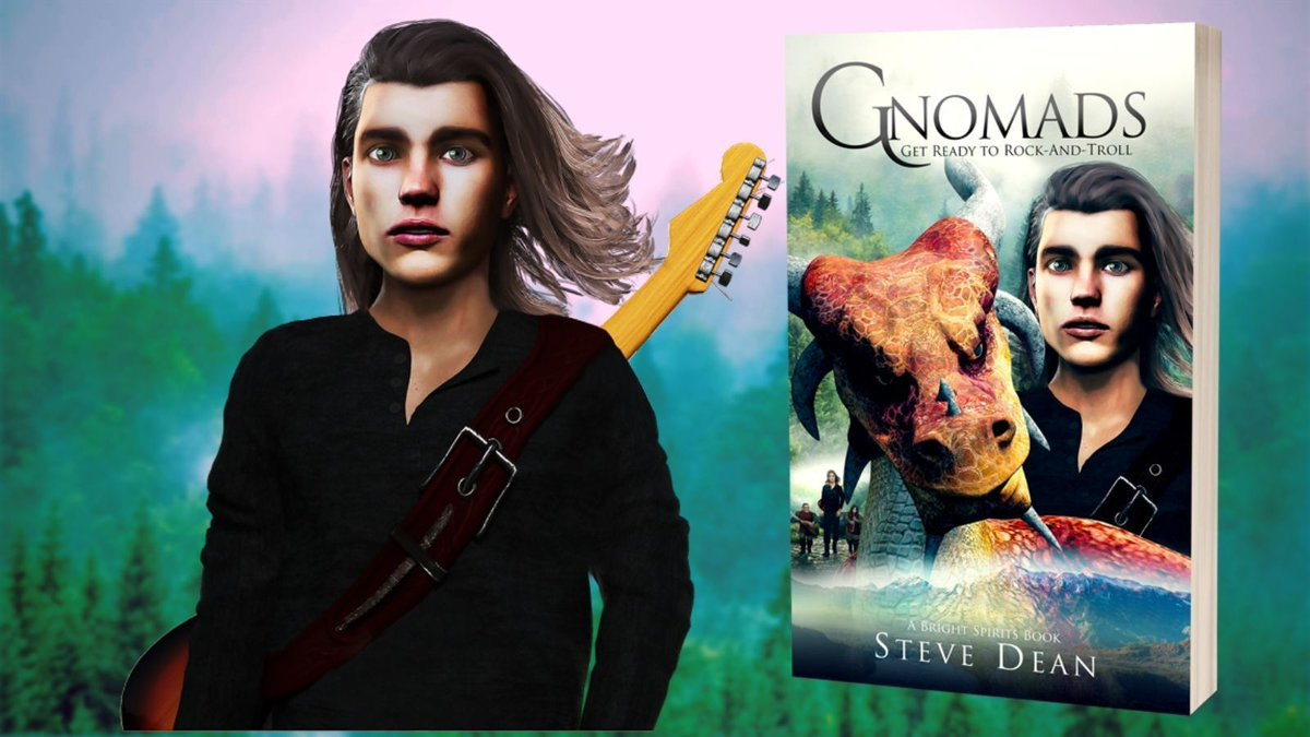 """""""I wish I was somewhere different, far away from this lot!"""" A magic pendant grants Darren Wildgust his wish and sends him on a one-way trip to a place very different. Steve Dean's fantasy novel """"Gnomads.""""   #YAfantasy #YAfiction #Fantasybooks #bookstagram"""