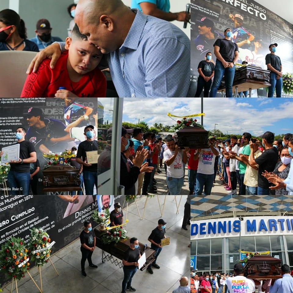 #Nicaragua | Nicaragüenses despiden con homenaje póstumo realizado en el Estadio Nacional, al cronista deportivo Xavier Araquistain. @Ut5Unidos @AmorNicaraguaD6  #21Enero #ManaguaSandinista https://t.co/Hy0kM1beBd