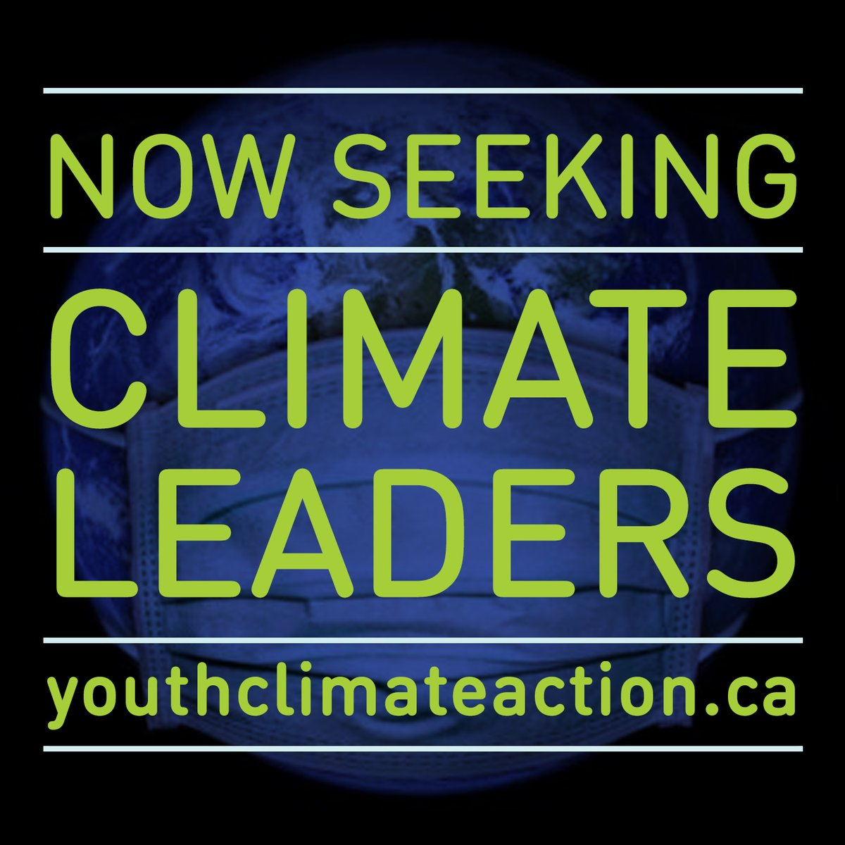 🔵 We're recruiting Climate Leaders!  Want to gain #leadershipskills, ignite #climateaction and #makeanimpact in your community?  Through #YCI's #YouthClimateLeadership Program, young people aged 19-25 in the #GTHA can!  Spaces limited, apply today 🔵