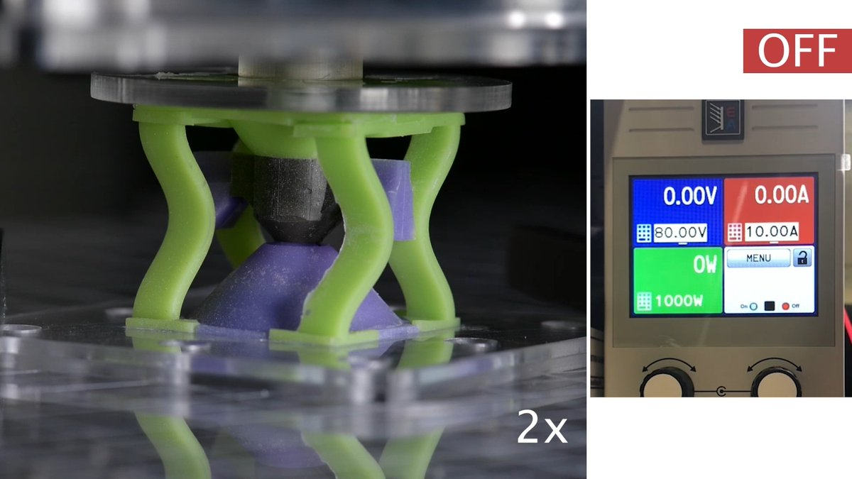 A report in Nature describes a new device with remotely reconfigurable mechanical properties. go.nature.com/3sENzfH