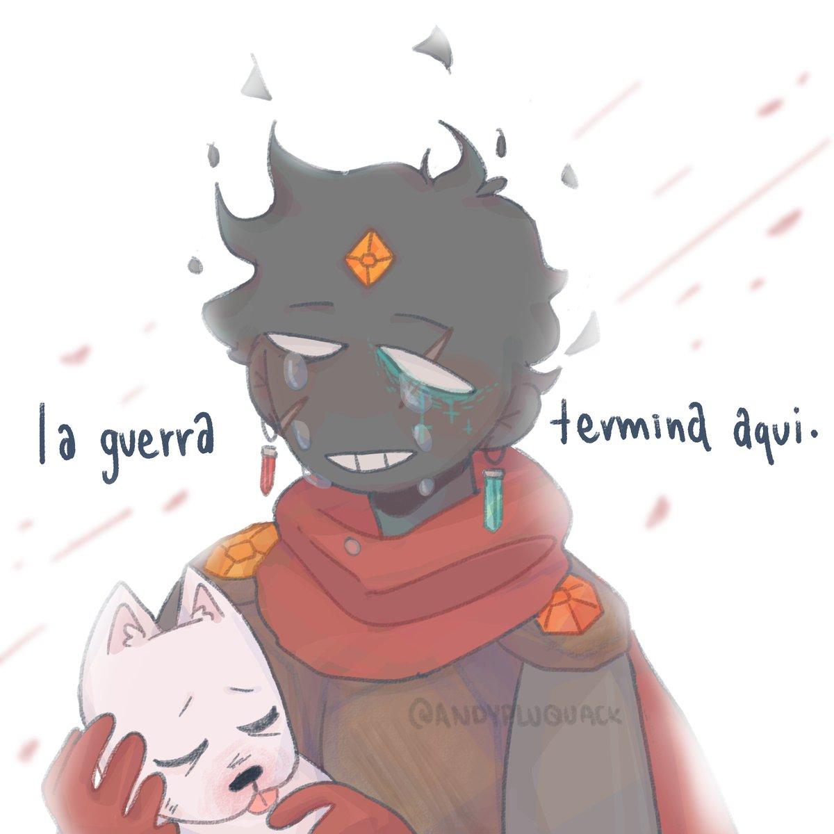 ☆ ~ [ la guerra termina aqui. ] ~ ☆ un mes tarde pero vengo a abrirles la herida de la guerra :] + Farfa is back, amen 🛐 ✨ anyways, rts are aprecciated! :) #CubiArt #CubiArtFarfa