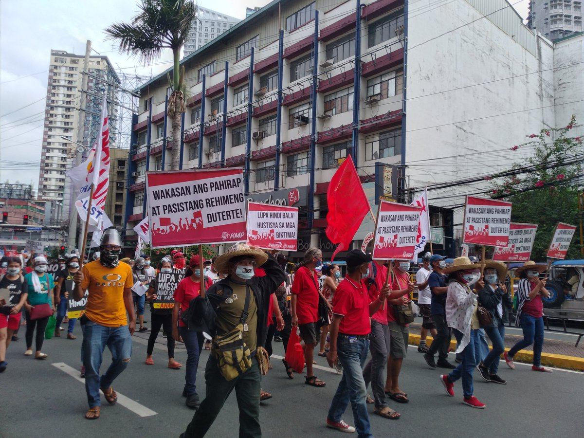 They also demand the junking of the Anti-Terror Law, which peasant grouos say criminalizes the fight for land reform.