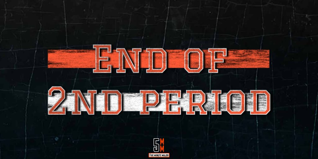 Forty minutes in the books and the Flyers hold their 2-0 lead with 20 minutes left in this one.  #5MM✖️#AnytimeAnywhere