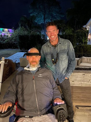 Always good to see you my brother @SteveGleason #nowhiteflags