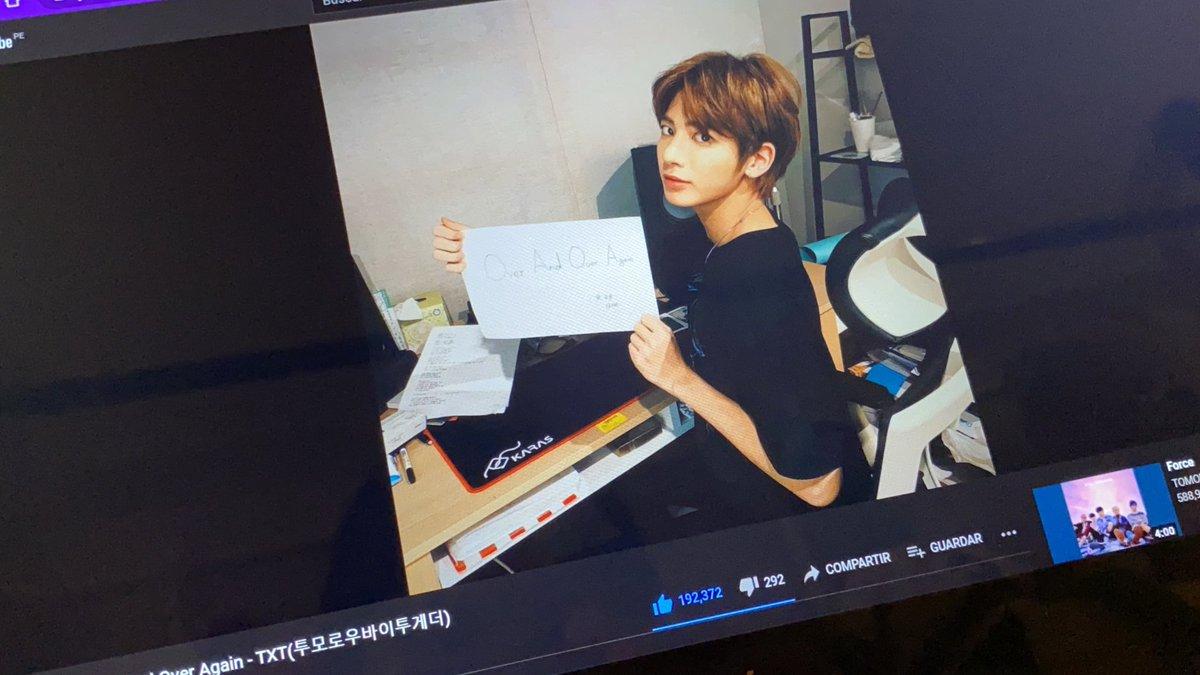 un poco tarde al #TaehyunStreamingParty pero síganle haciendo stream siempre ♡   #TAEHYUN #태현 #TOMORROW_X_TOGETHER #투모로우바이투게더 @TXT_members @TXT_bighit