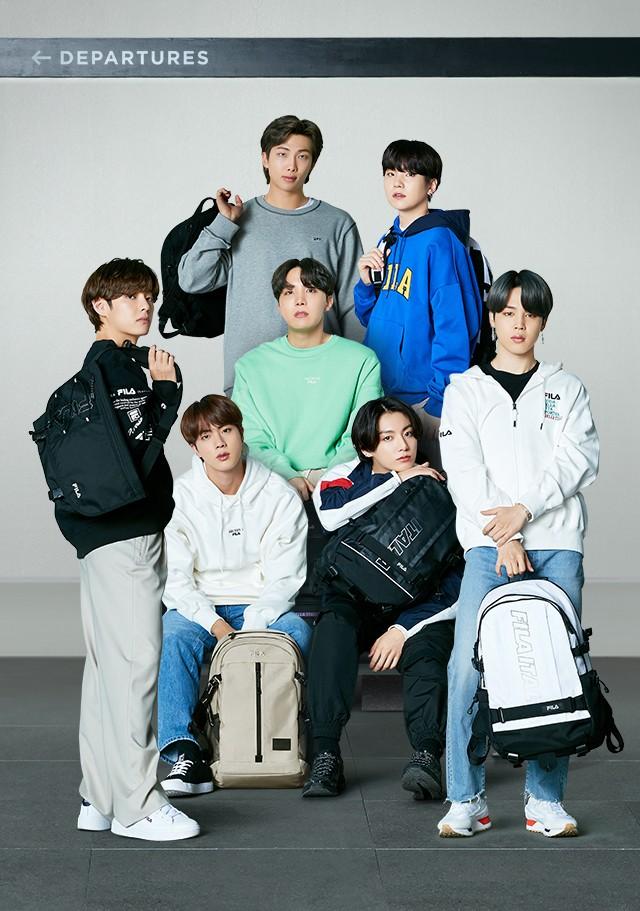 Replying to @blackxagustd: FILA KOREA | New Beginning (1)  #BTS #방탄소년단 @BTS_twt