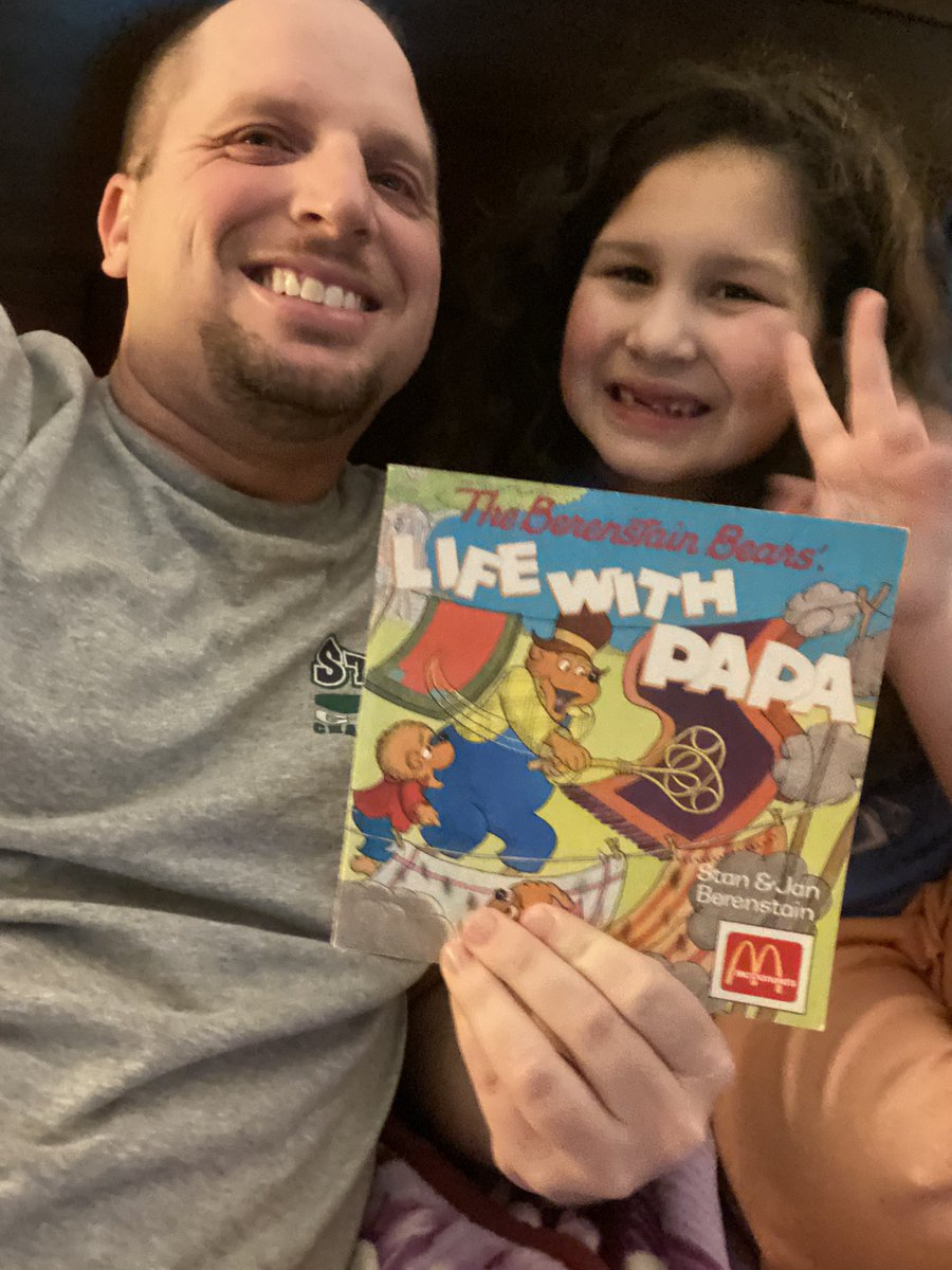 @TheBerenstains : I got to read #lifewithpapa to my daughter over 30 years after receiving from a #happymeal @McDonalds