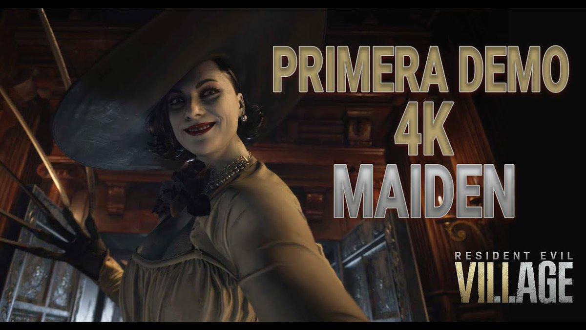 ¿Quiéres ver la nueva demo exclusiva de PS5 Maiden? Échale un vistazo... te vas a maravillar.    #ResidentEvilVillage #ResidentEvil8 #ResidentEvilMaiden  #maiden #Rebfun #ResidentEvilVillageDemo