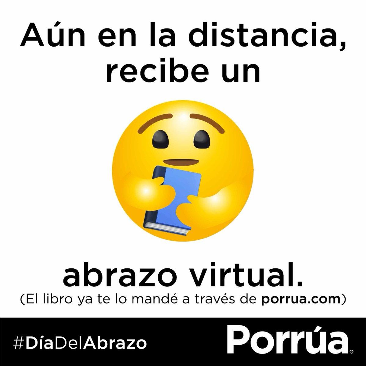 #DíaDelAbrazo 🤗 #libros #leer #booklover #bookstagram #amoleer #book #leeresvivir #SoyLectorPorrúa