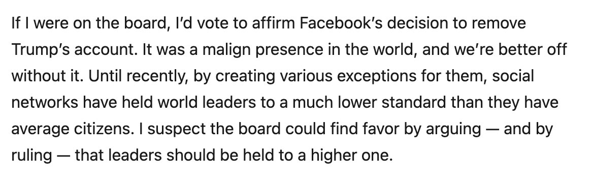 I wrote about Facebook, the Oversight Board, and the problem of legitimacy https://t.co/KznDNFda1y https://t.co/IHUp7yIGSP