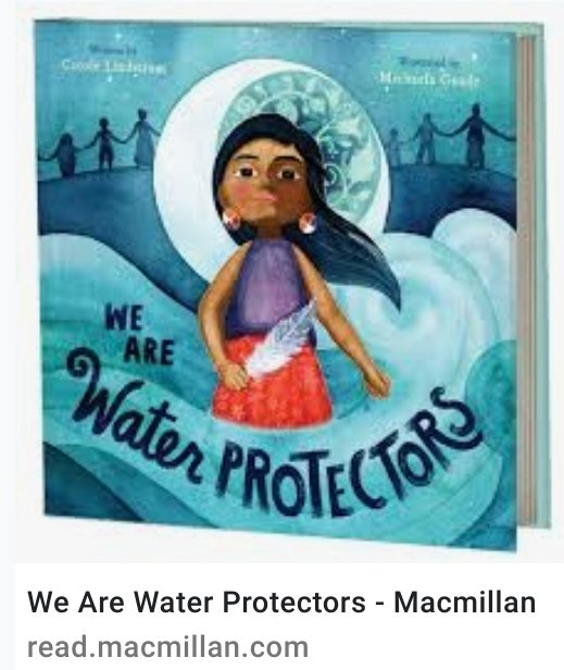 One of my daughters' favorite bedtime stories. Beautifully written and illustrated. Today I got to tell them about a big step our new president took to stop the black snake. #ClimateAction