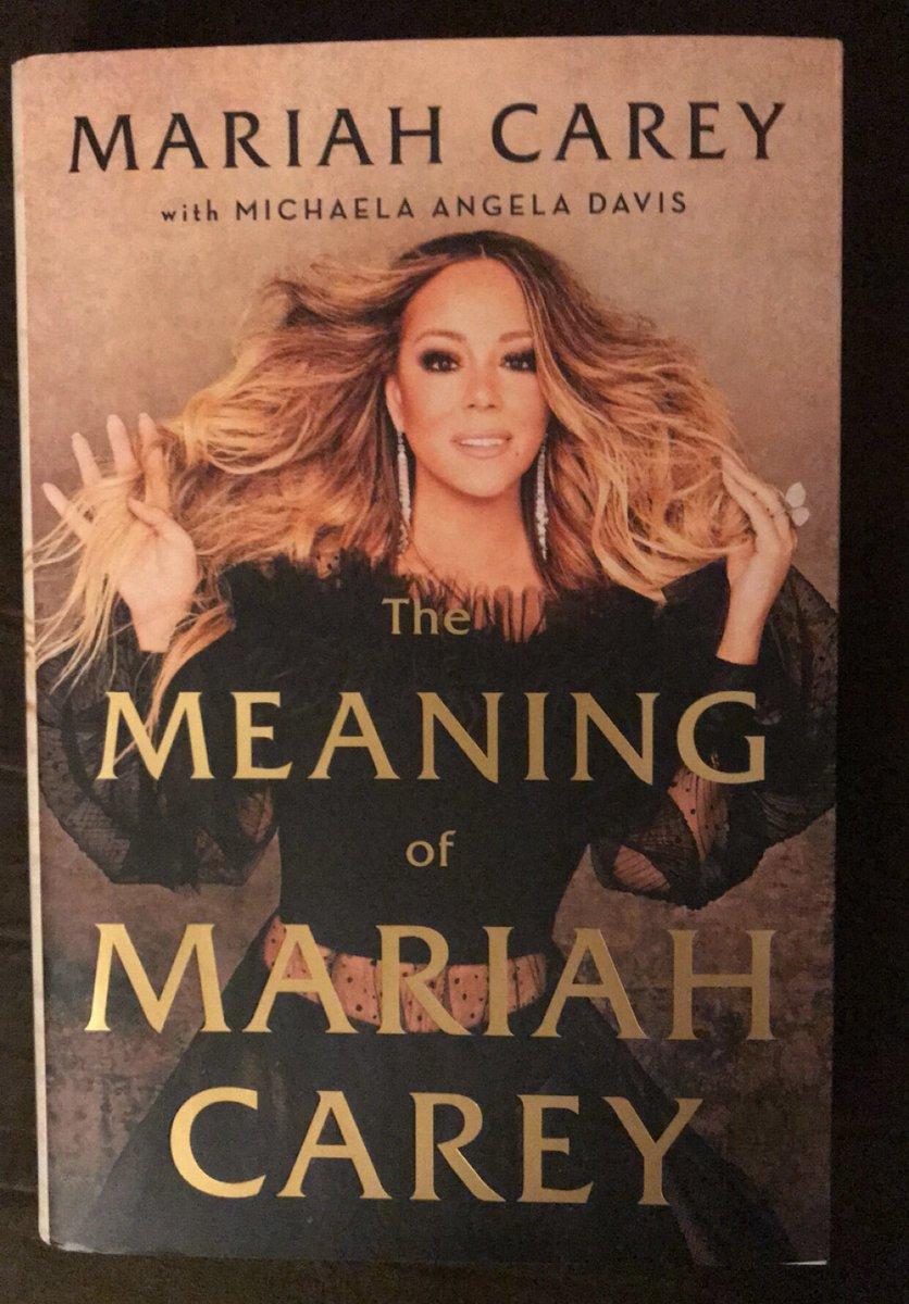 Thank You Chicky I Love You 😘 #TheMeaningOfMariahCarey @MariahCarey