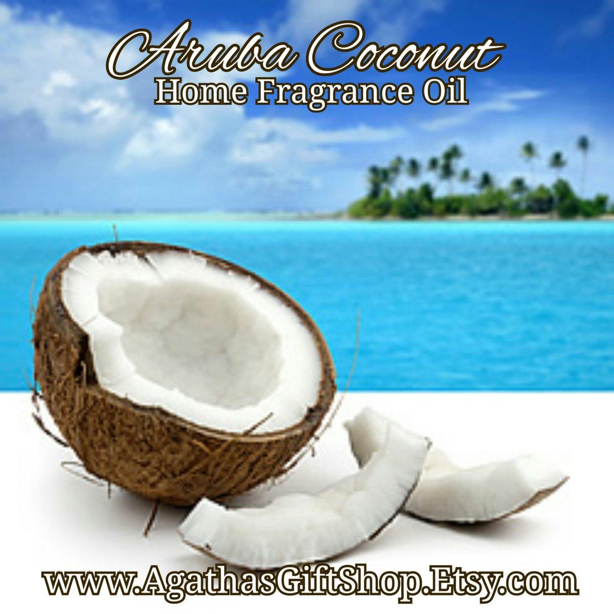 Aruba Coconut (Type) Home Fragrance Diffuser Warmer Aromatherapy Burning Oil  #Incense #HomeFragranceOil #Etsy #CyberMonday #HerbalRemedies #GiftShopSale #BlackFriday #PerfumeBodyOils #AromatherapyOil #Wedding #Etsygifts