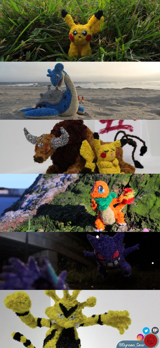 After making fully-poseable, to-scale pipe cleaner figures of ALL original 151 Kanto pokemon for the past seven years, I'm going on an adventure this summer to photograph each and every one for the series' 25th anniversary. ⬇️ #Project151 #Pokemon25 #NewPokemonSnap