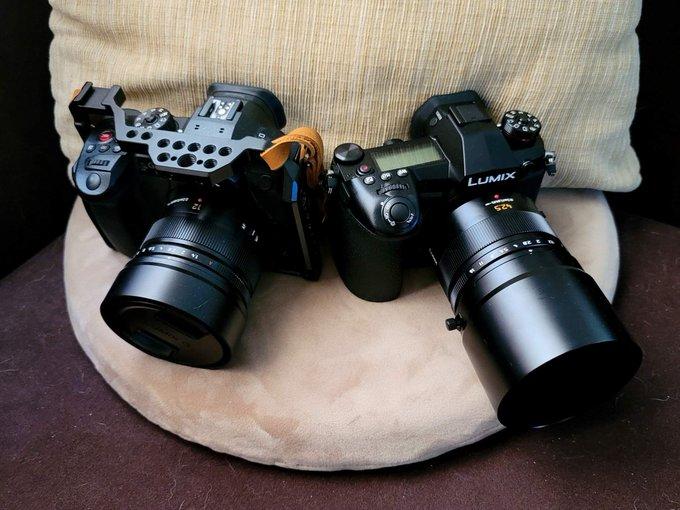 ขาดเลนส์เทเล ก็จะครบชุดละ Lumix GH5s Lumix G9 Pana Leica 12mm f1.4 Pana Leica 42.5mm f1.2 https://t.