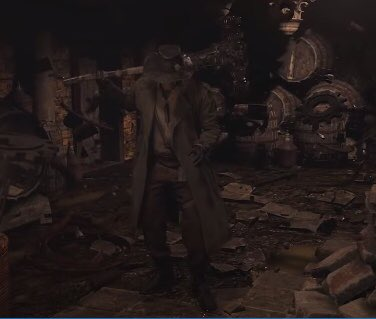 Hmmm 🤔 could this be Heisenbergs mutated form in #ResidentEvilVillage 😯#ResidentEvilShowcase