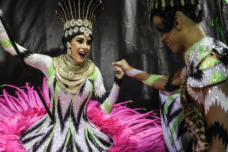 Rio de Janeiro's Carnival, world's largest open-air party and attracting millions of people annually, canceled this year due to #COVID19 pandemic